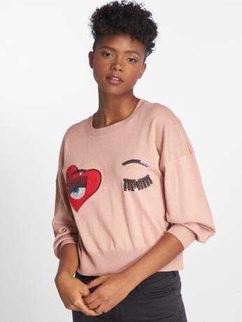 only-frauen-pullover-onlchelsea-knit-in-rosa