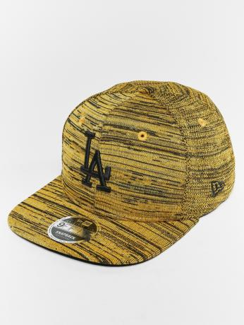 new-era-manner-frauen-snapback-cap-mlb-eng-fit-los-angeles-dodgers-9-fifty-in-gelb