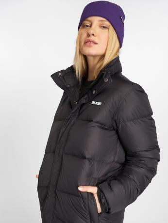 dickies-frauen-puffer-jacket-oakvale-in-schwarz