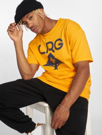 lrg-manner-t-shirt-classic-stack-in-gelb