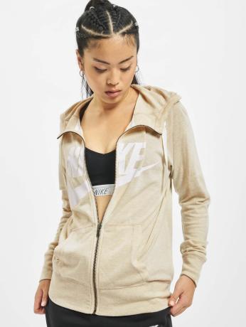 nike-frauen-zip-hoodie-gym-vintage-in-beige