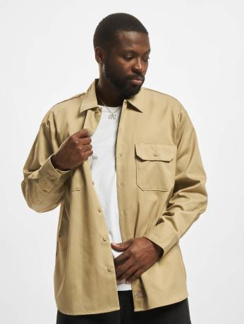dickies-manner-hemd-longsleeve-work-in-khaki