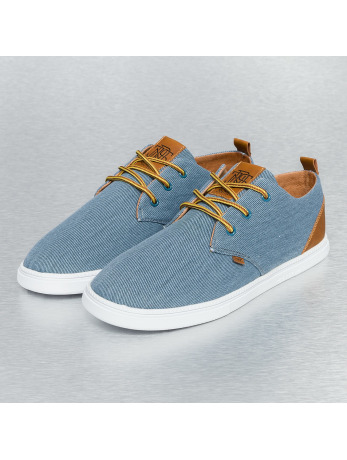 Djinns Washed Canvas Low Lau Sneakers Slate