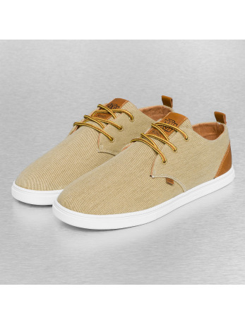 Djinns Washed Canvas Low Lau Sneakers Khaki