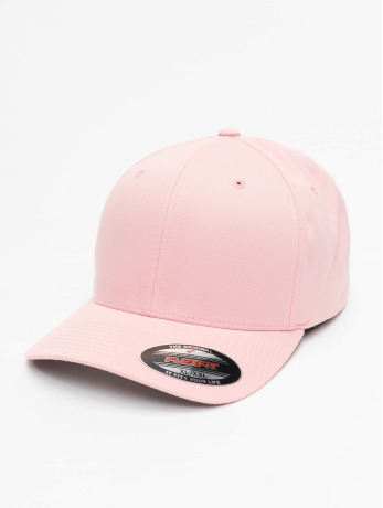 flexfit-manner-frauen-flexfitted-cap-wooly-combed-in-pink
