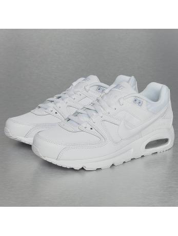 Nike Air Max Command Leather Sneakers White-White-Metallic