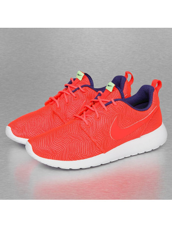 Nike WMNS Roshe One Moire Sneakers Bright Crimson/Bright Crimson/White