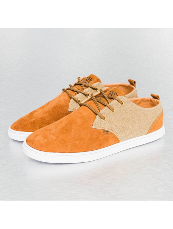 Djinns Skin And Canvas Low Lau Sneakers Wheat