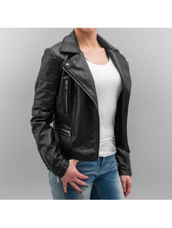 Noisy May nmSteve PU Jacket Black