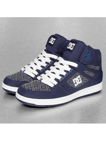 DC Rebound HighTX SE Skate Shoes Navy