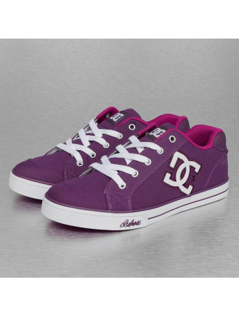 DC Chelsa TX Sneakers Purple/White