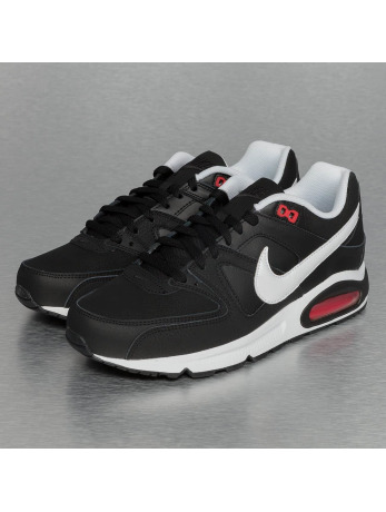 Nike Air Max Command Leather Sneakers Black/White/Action Red
