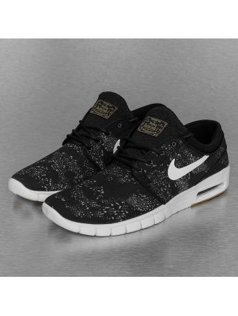 Nike SB Stefan Janoski Max Premium Sneakers Black/White/Olive/Light Brown