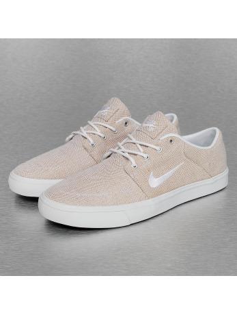 Nike SB Portmore Canvas Premium Sneakers Beige/White/White/Black