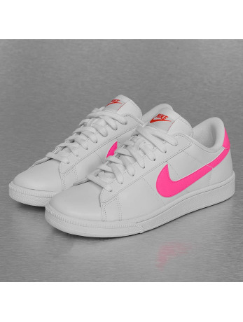 Nike WMNS Tennis Classic Sneakers White/Pink Blast/Team Orange/Black