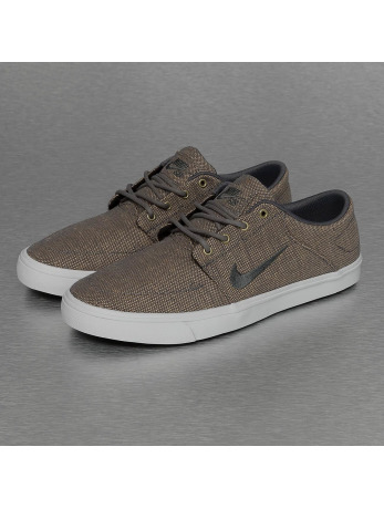 Nike SB Portmore Canvas Premium Sneakers Dark Grey/White