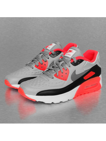 Nike Air Max 90 Ultra SE (GS) Sneakers Wolf Grey/Cool Grey/Bright Crimson
