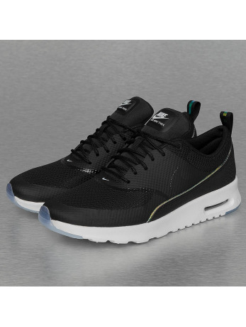 Nike Air Max Thea Premium Sneakers Black/Black/Blue Tint