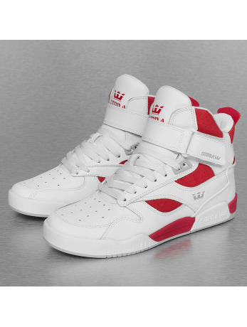 Supra Bleeker Sneakers White/Red/White