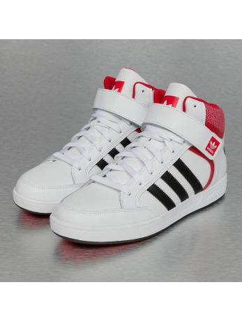 adidas Varial Mid Sneakers White-Core Black-Scarlet
