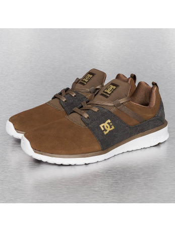 DC Heathrow SE Sneakers Dark Chocolate/Denim