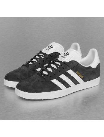 Adidas Gazelle Sneakers Dark Grey Heather Solid Grey-White