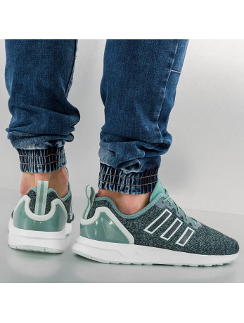 adidas ZX Flux ADV Sneakers Vapour Steel-Vapour Green-Footwear White