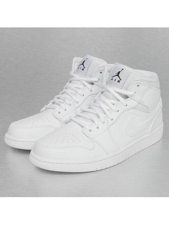 Jordan 1 Mid Sneakers White/Black/White
