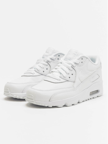 Nike Air Max 90 Leather (GS) Sneakers White/White