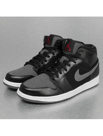 Jordan 1 Mid Winterized Sneakers Black/Gym Red/Dark Grey