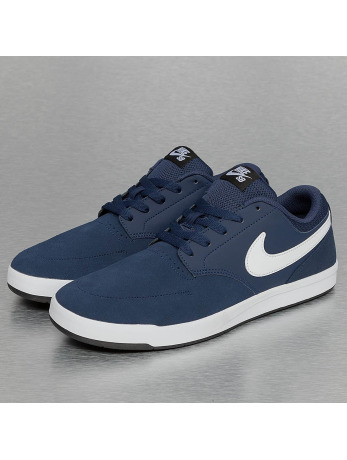 Nike SB Fokus Skateboarding Sneakers Midnight Navy/White/Black
