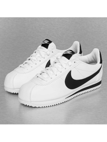 Nike Classic Cortez Leather Sneakers White/Black/White