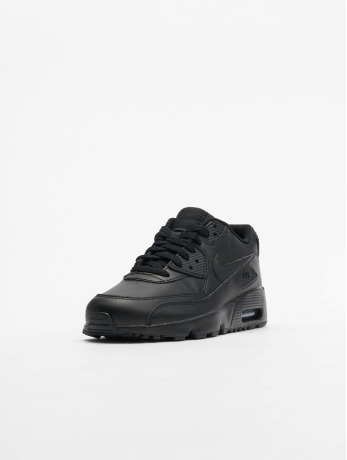 Nike / sneaker Air Max 90 Leather (GS) in zwart
