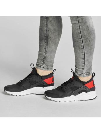 Nike Air Huarache Run Ultra (GS) Sneakers Black-Max Orange-White