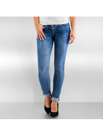 Authentic Style Amy Skinny Jeans Middle Blue Denim