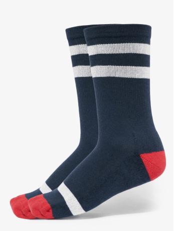 urban-classics-manner-frauen-socken-multicolor-socks-2-pack-in-blau