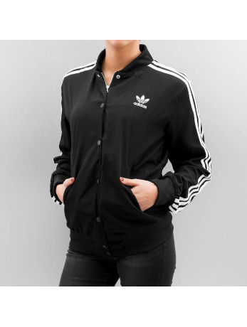 Adidas 3 Stripes Bomber Jacket Black
