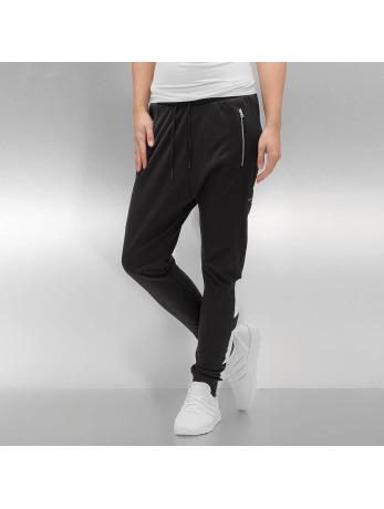 Adidas Low Crotch Cuffed Tracker Pants Black