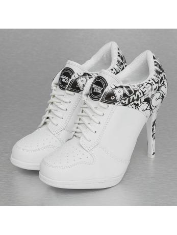 Missy Rockz Street Rockz High Sneaker White