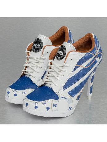 Missy Rockz Welcome on Board High Sneaker White/Blue