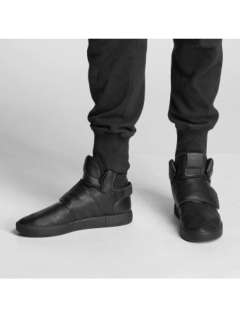 Adidas Tubular Invader Strap Sneakers Core Black-Core Black-Utility Black