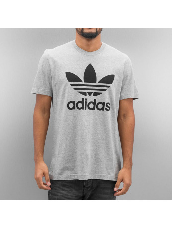 Adidas Original Trefoil T-Shirt Medium Grey Heather-Medium Grey Heather