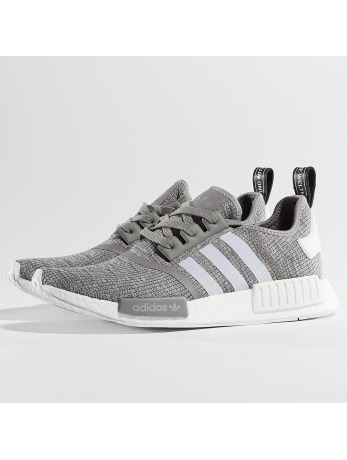 Adidas NMD R1 Sneakers Solid Grey-Ftwr White-Ftwr White