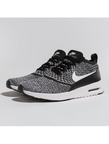Nike Air Max Thea Ultra Flyknit Sneakers Black-White