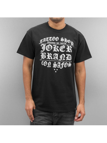 Joker Tattoo Shop T-Shirt Black
