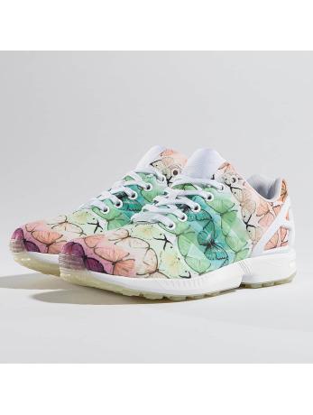 Adidas ZX Flux W Sneakers White-Footwear White-Linen Green