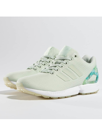 Adidas ZX FLux W Sneakers Linen Green-Linen Green-Footwear White