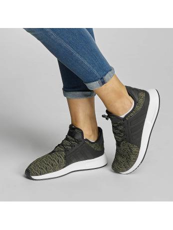 Adidas X_PLR J Olive Cargo-Core Black-Footwear White