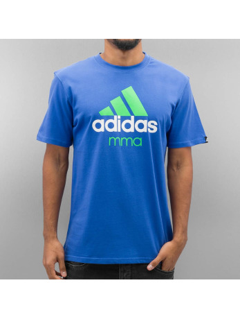 Adidas Boxing MMA Community T-Shirt Light Blue-Fluo Green