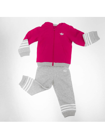 Adidas Fleece HFL Suit Unity Pink-Medium Grey Heather